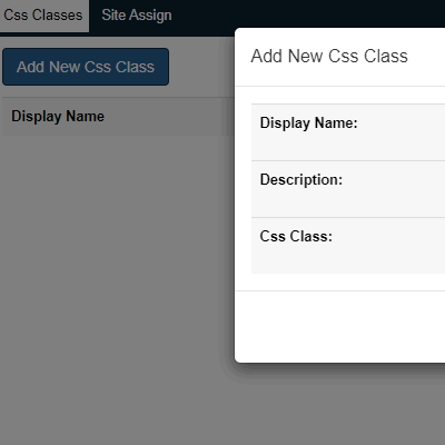 Settings---CSS-Classes